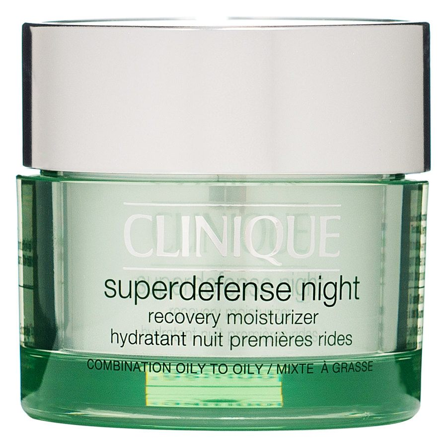 Clinique Superdefense Night Recovery Moisturizer Oily & Combination Oily Skin 50ml
