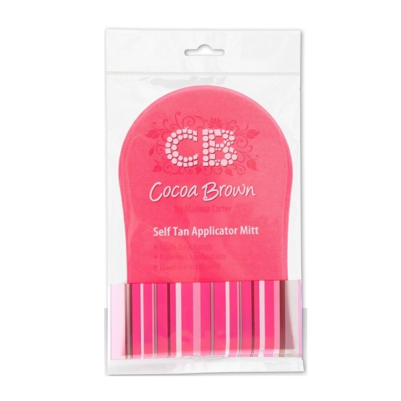 Cocoa Brown by Marissa Carter Pink Tanning Mitt