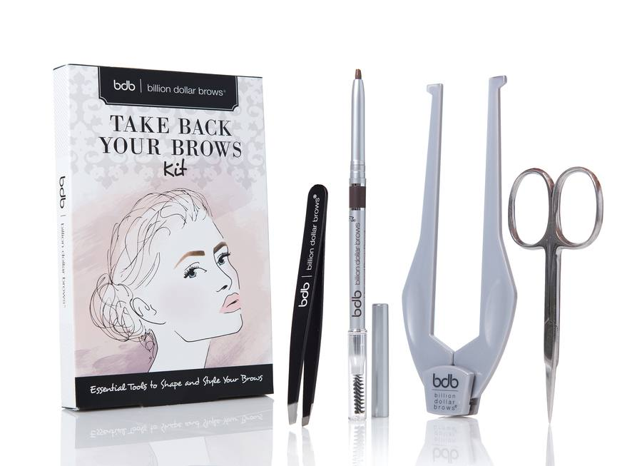 Billion Dollar Brows Take Back Your Brows Kit I 4 dele
