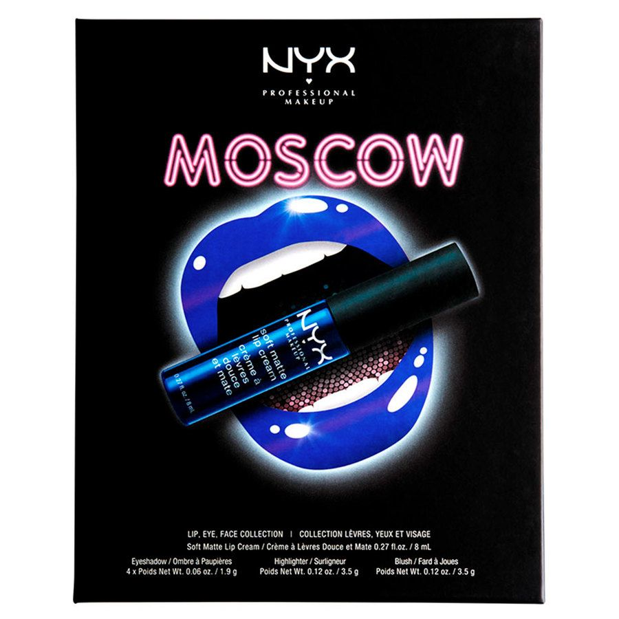 NYX Professional Makeup City Set Moscow