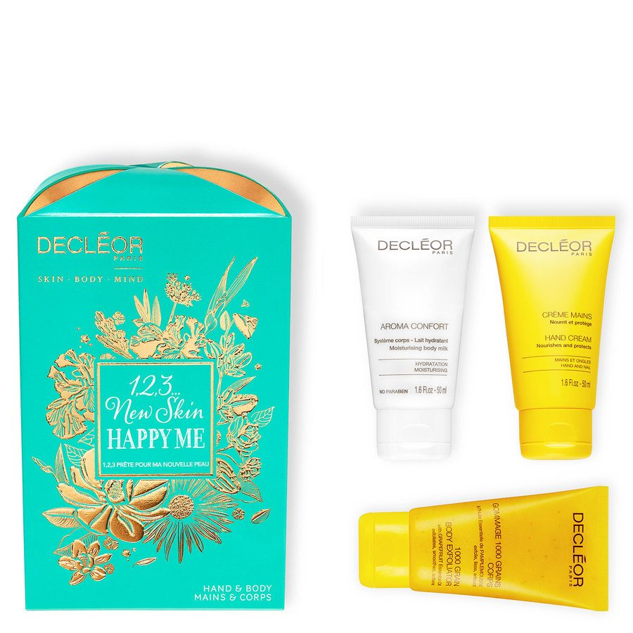 Decléor 1 2 3 New Skin Happy Me Kit Body Trio Giftset