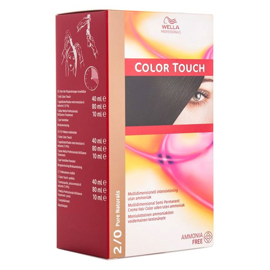 Wella Professionals Color Touch CT OTC 100 ml 2/0 Pure Naturals SKAN