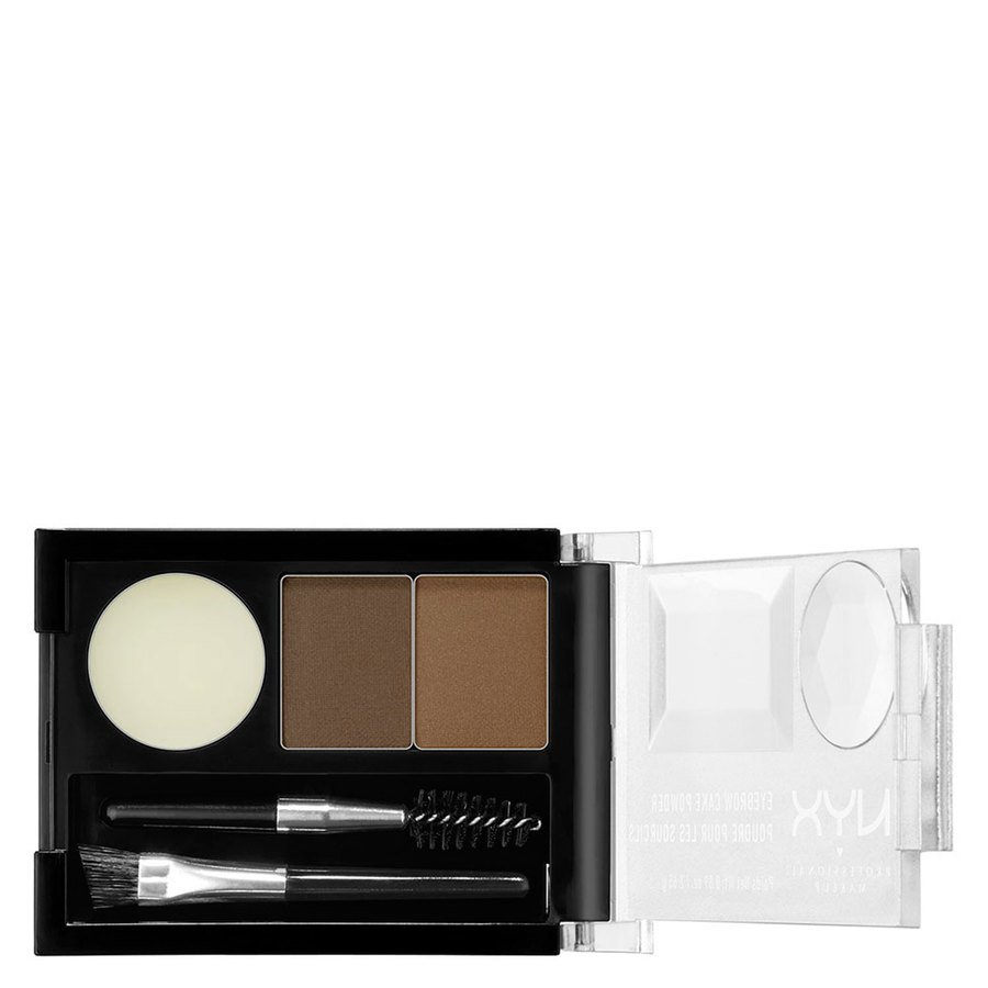 NYX Professional Makeup Eyebrow Cake Powder Brunette ECP05
