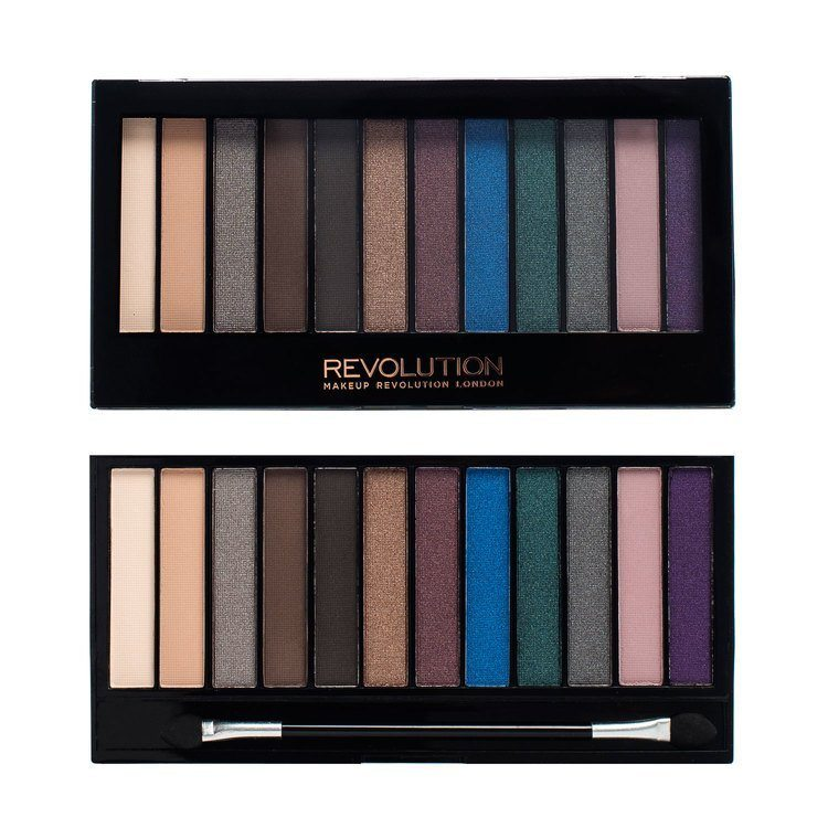 Makeup Revolution Redemption Palette Hot Smoked 14g