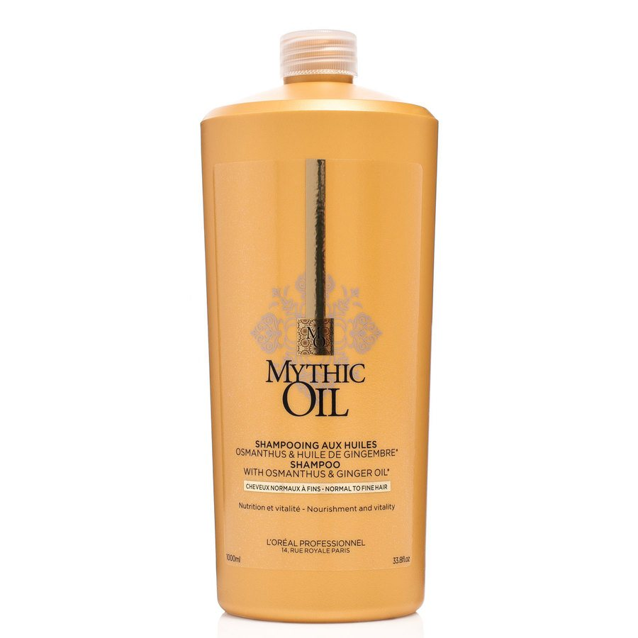 L'Oréal Professionnel Mythic Oil Shampoo Normal & Fine Hair 1000ml