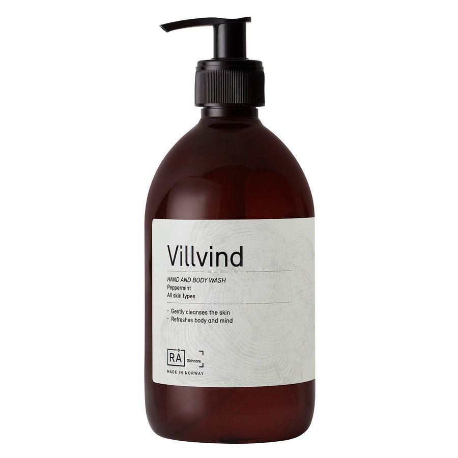 RÅ Organic Skincare (Exp 04.2019)  Villvind Hand And Body Wash 500ml