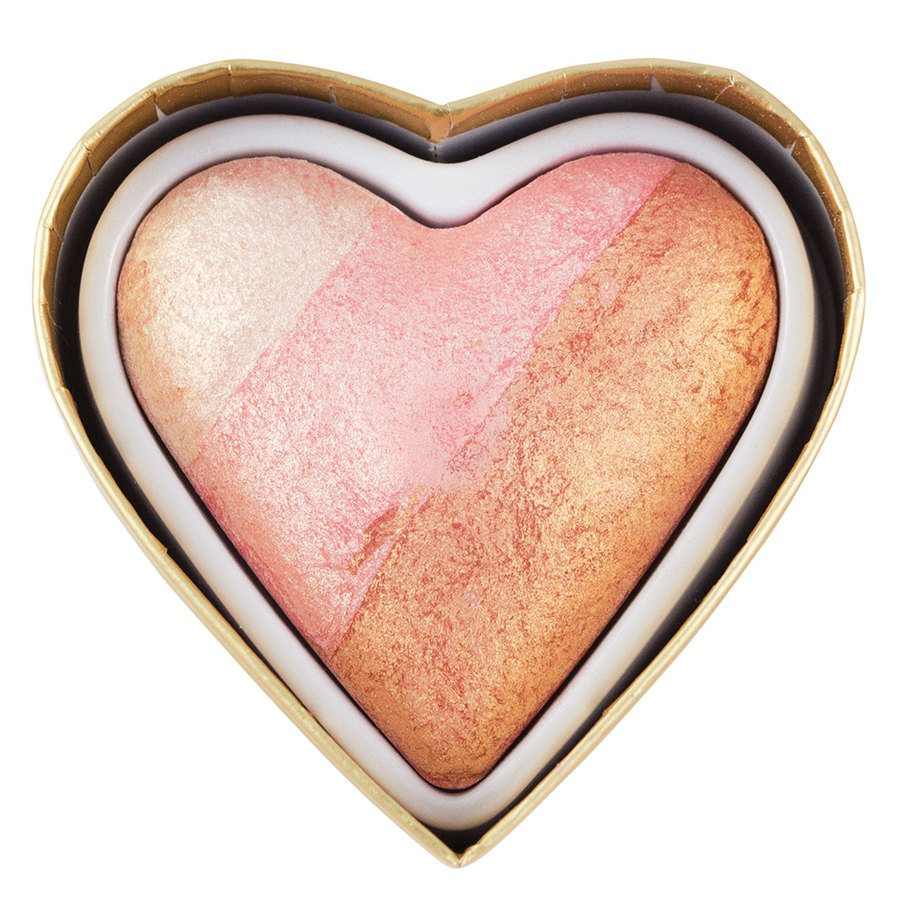 Makeup Revolution I Heart Makeup Blushing Hearts Blusher Iced Hearts 10g