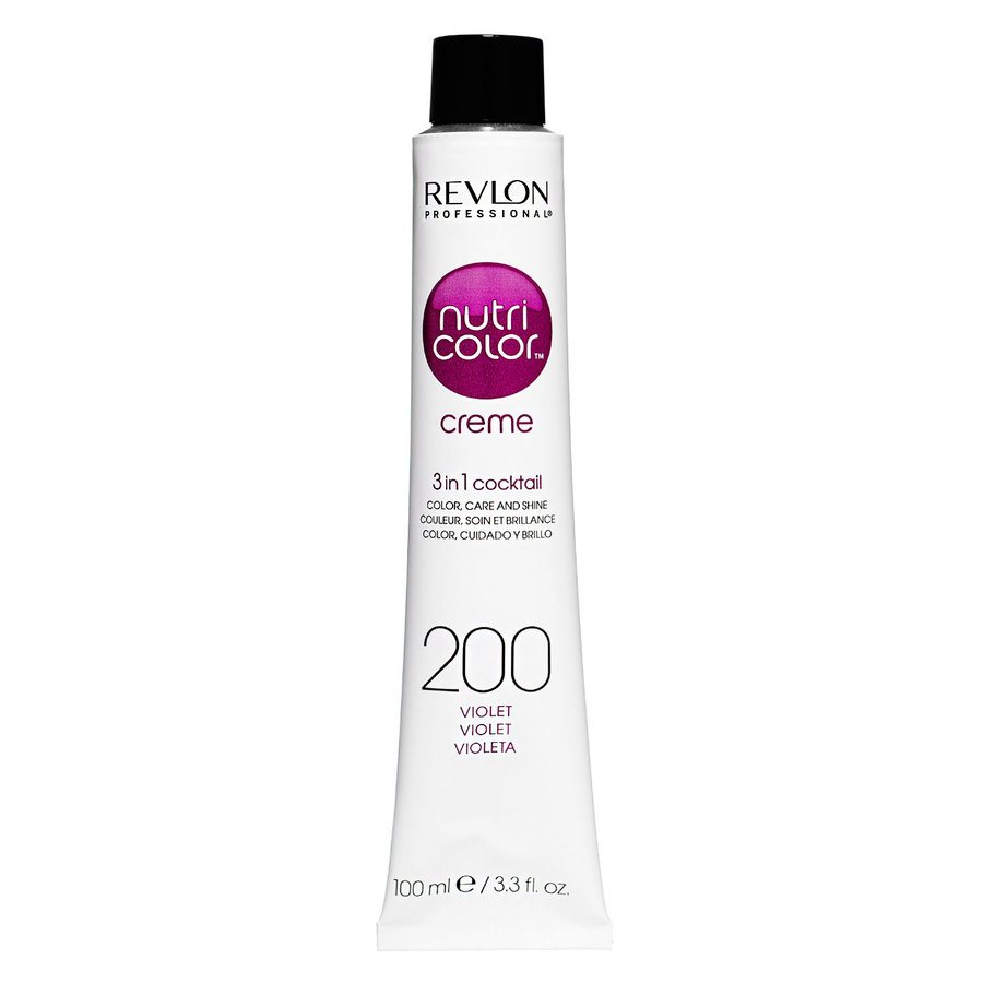 Revlon Professional Nutri Color Creme 100ml #200 Violet