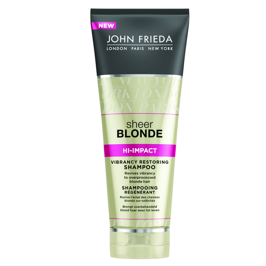 John Frieda Sheer Blonde Hi-Impact Vibrancy Restoring Shampoo 250ml
