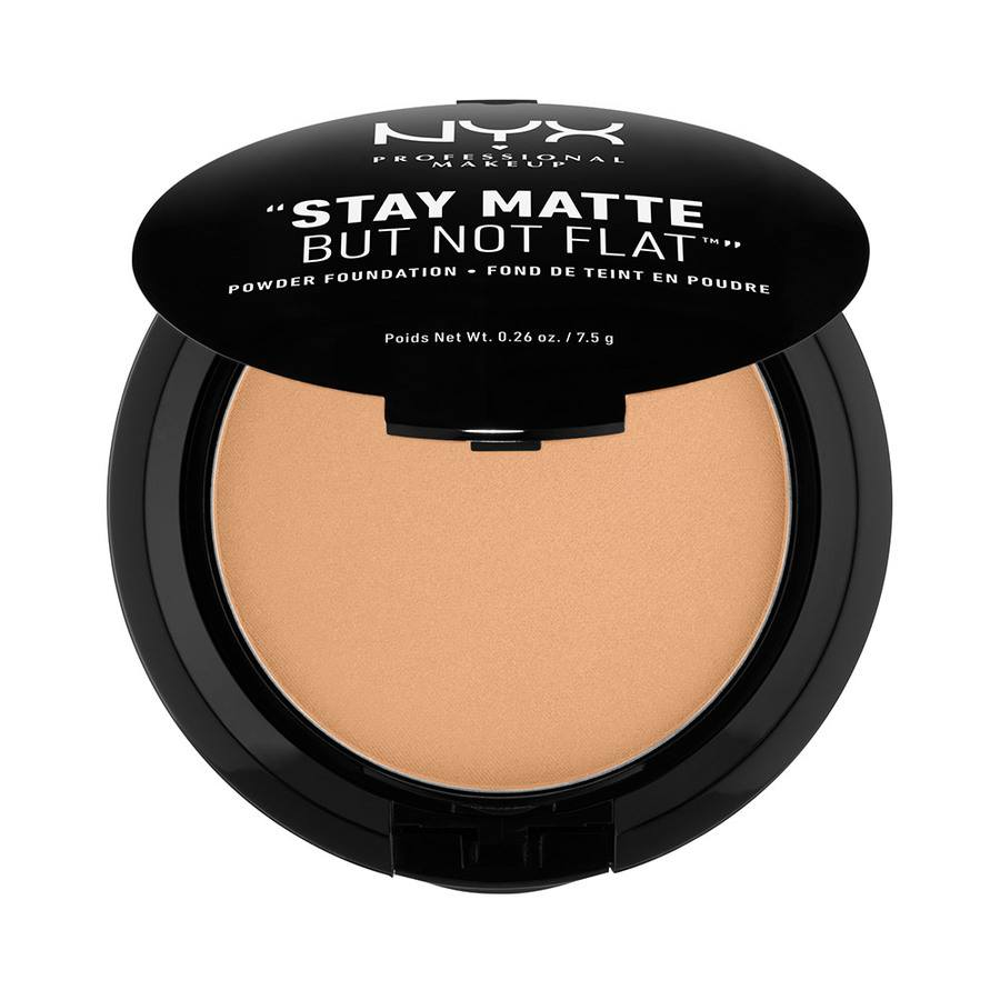 NYX Professional Makeup Stay Matte But Not Flat Powder Caramel SMP10