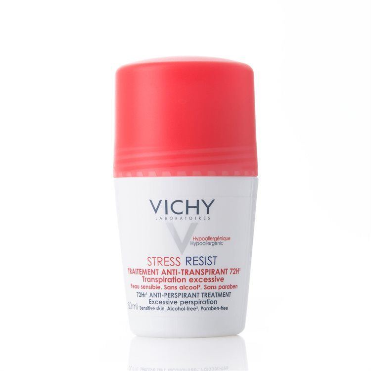 Vichy Antiperspirant Deodorant Roll-on 72h Stress Resist, 50 ml