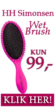 HH Simonsen wet brush KUN 99,-